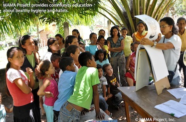 Mama project Community Education 373*244